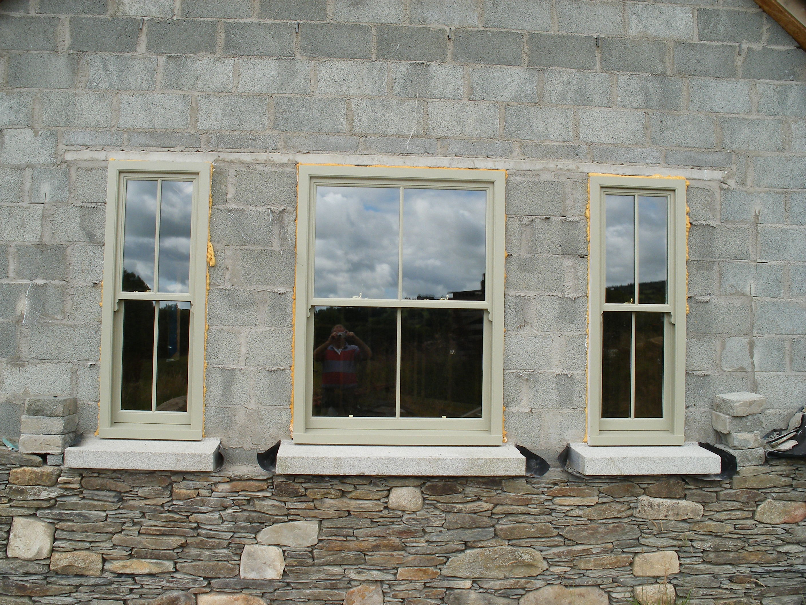 Sliding sash windows woodfield joinery modern and for Traditional window design