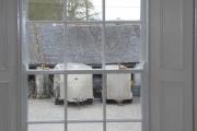 New Windows from inside Kildare farmhouse